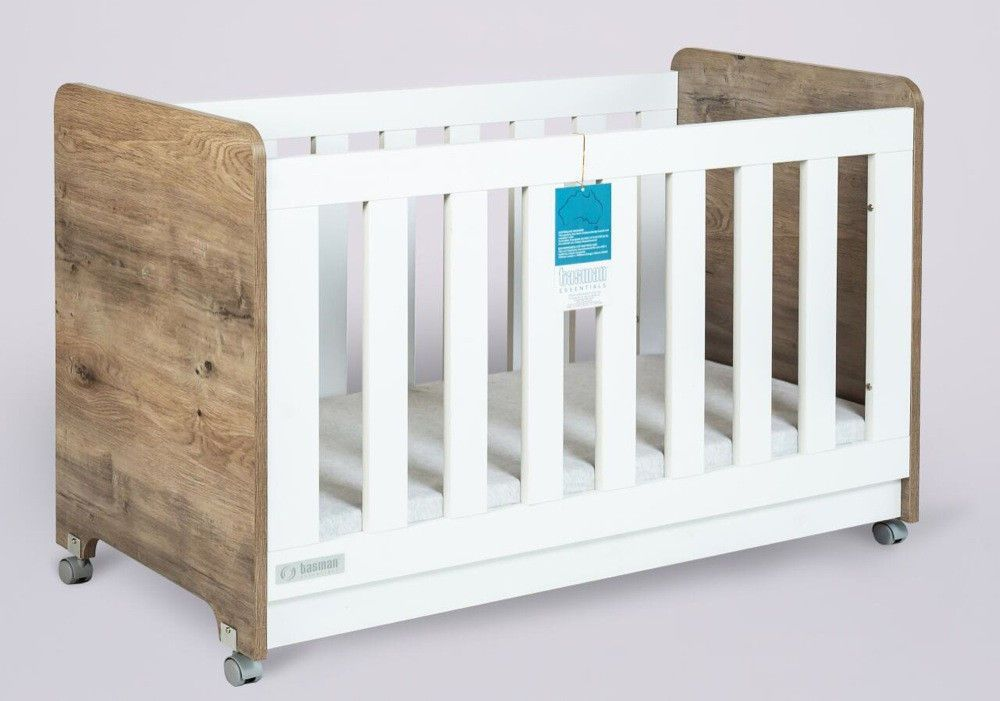 tasman eco baby cot ash furniture