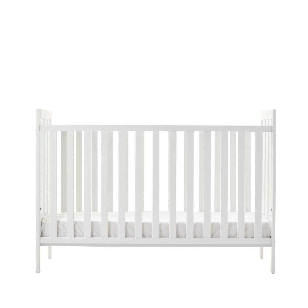 essentials by tasman eco palermo baby cot front view