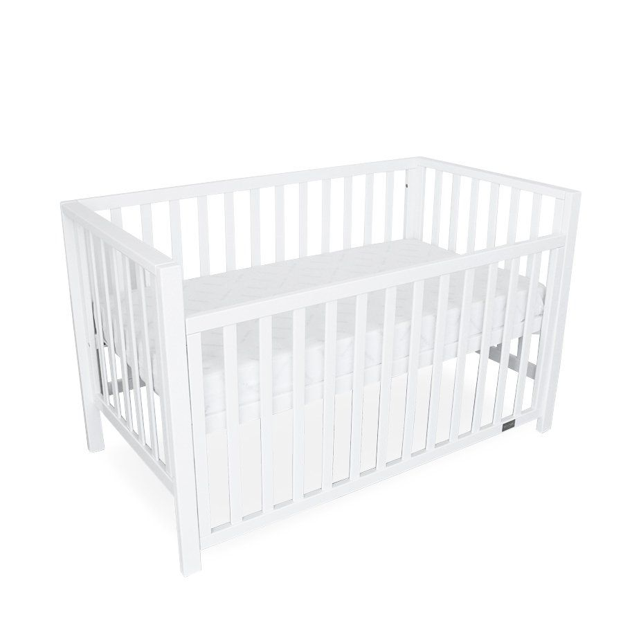 white lulu baby cot for baby nursery
