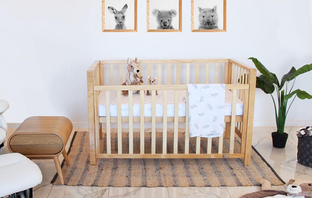 nordik baby lulu cot wooden in baby nursery furniture