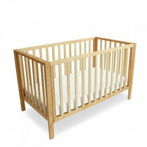 lulu cot wooden baby nursery cot