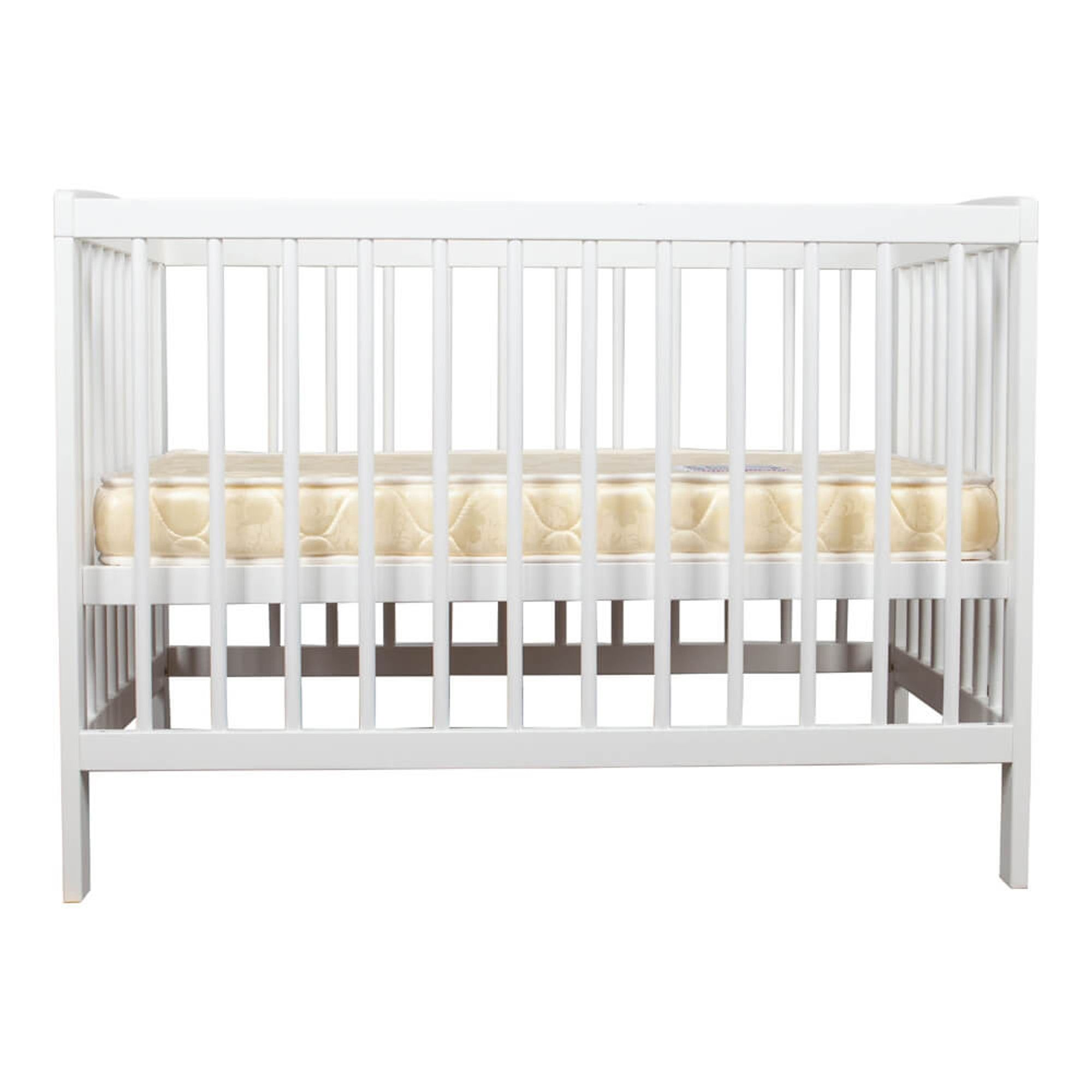 grotime white baby cot stand alone nursery furniture