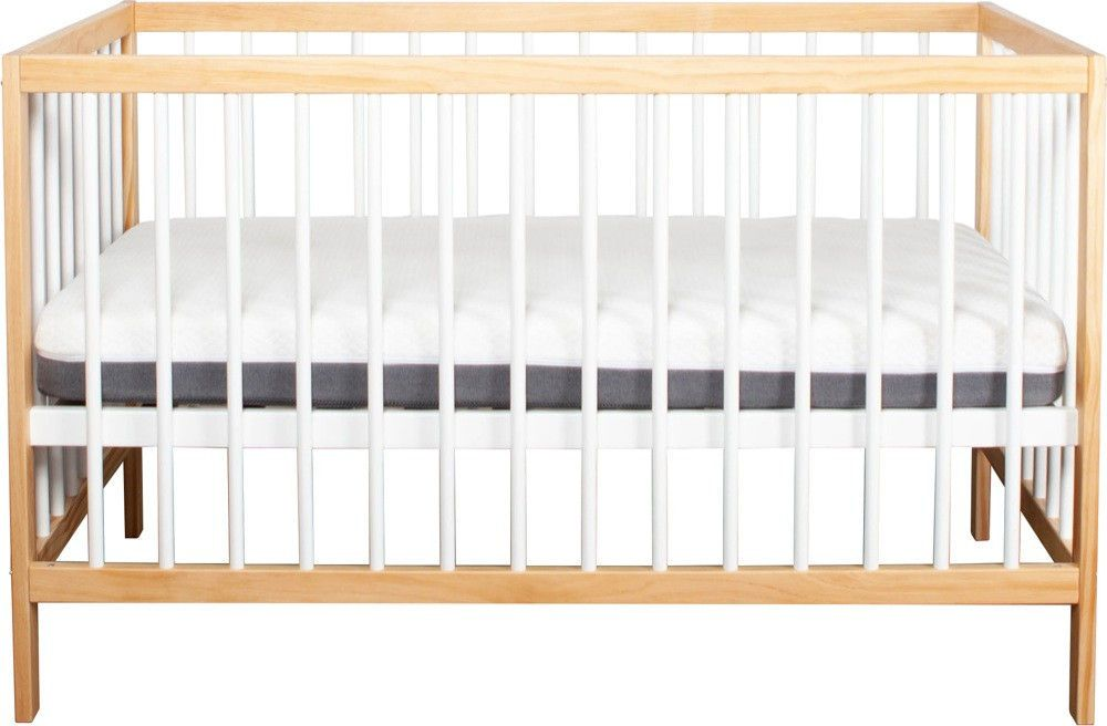 growtime clyde cot natural white front view