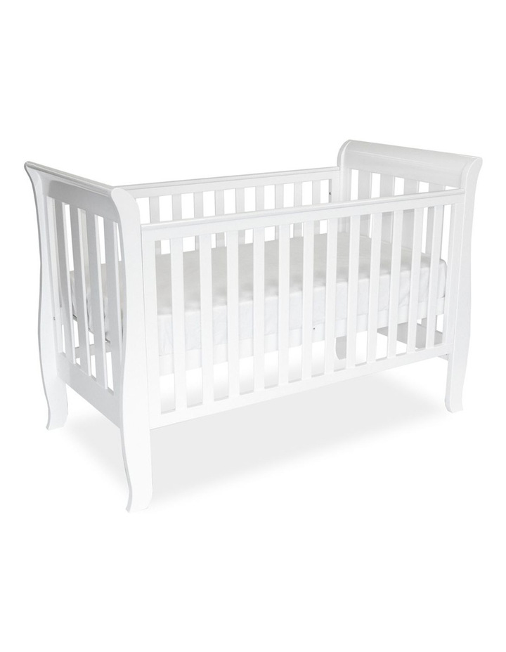 myer classic sleigh cot