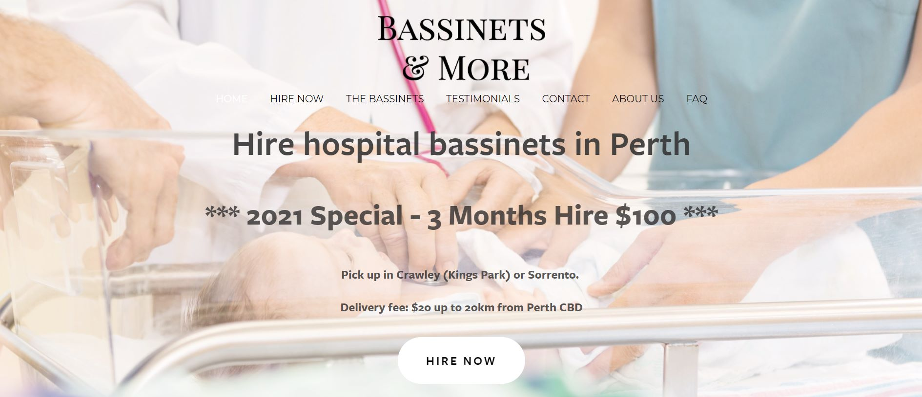 bassinets & more perth