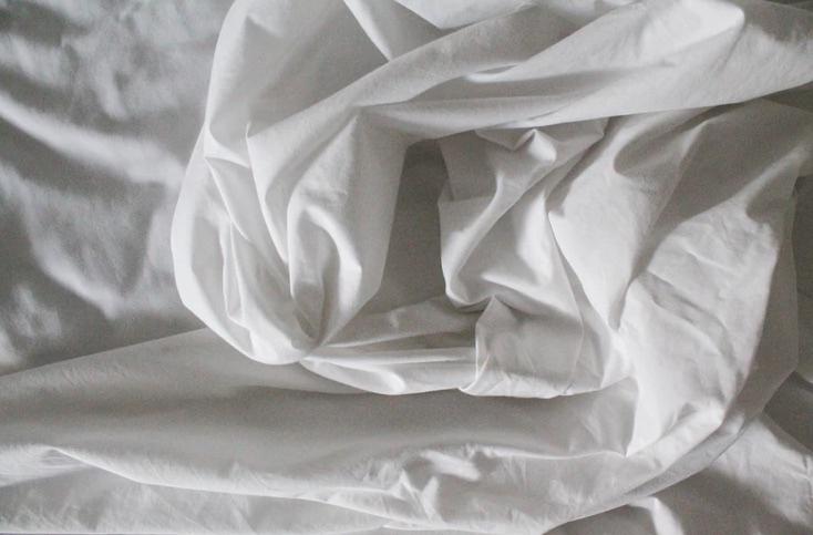 bamboo white sheet