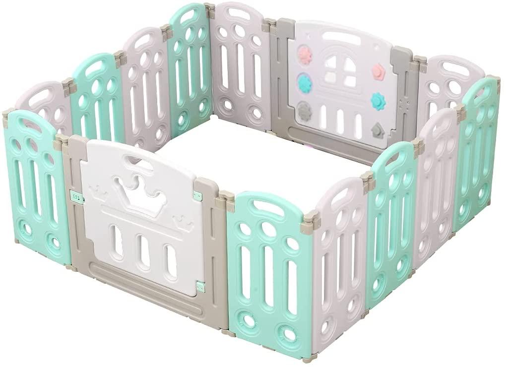 bopeep kids baby foldable playpen.