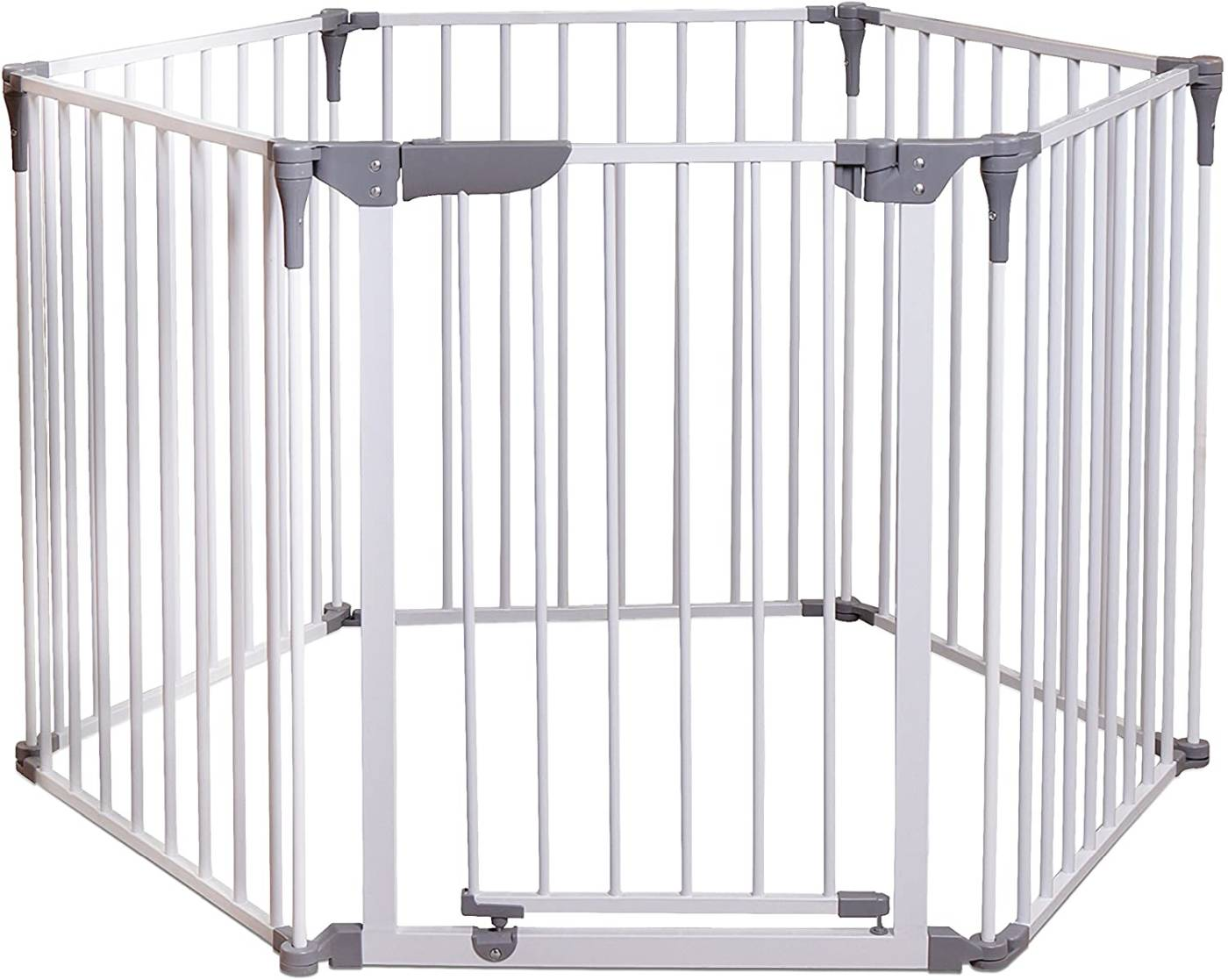 dreambaby royale 3 in 1 converta play pen gate, white