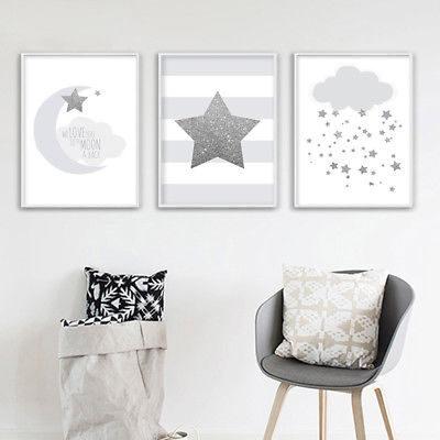 grey nursery decor